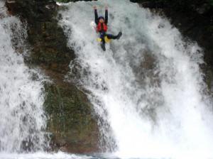 8mの滝 3