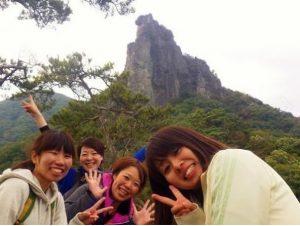 獅子岩の全貌