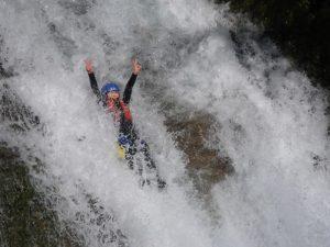 8mの滝 2